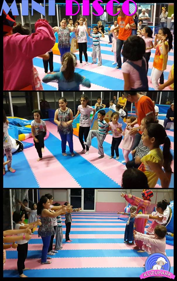 Çocuklar için Mini Disco Eskişehir Kuzu Park